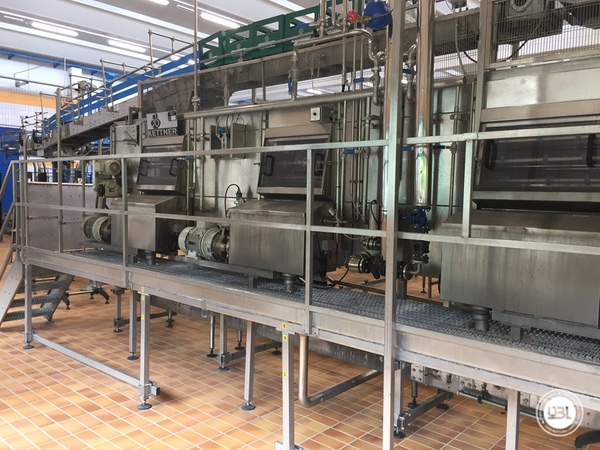 Used Complete Glass Line for Sparkling Water, Water 20000 bph - 11