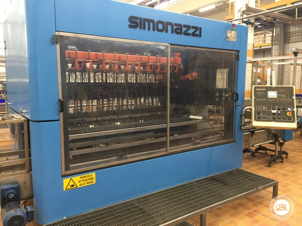 Used Complete Glass Line for Sparkling Water, Water 20000 bph - 16