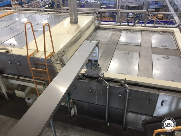 Used Complete Glass Line for Sparkling Water, Water 20000 bph - 2