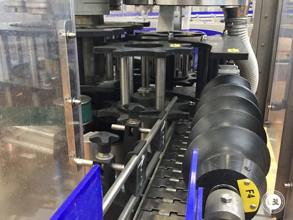 Used Complete Glass Line for Sparkling Water, Water 20000 bph - 21