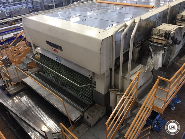 Used Complete Glass Line for Sparkling Water, Water 20000 bph - 3