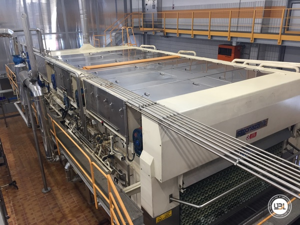 Used Complete Glass Line for Sparkling Water, Water 20000 bph - 4