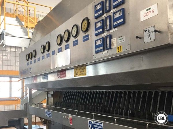 Used Complete Glass Line for Sparkling Water, Water 20000 bph - 8