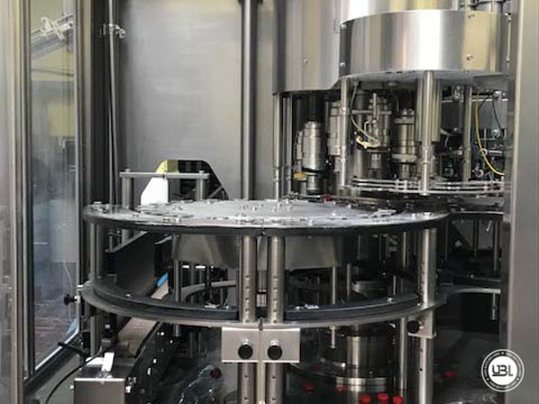 Used Isobaric Complete PET Line for Soft Drinks, Sparkling Water, Water 14000 bph - 16