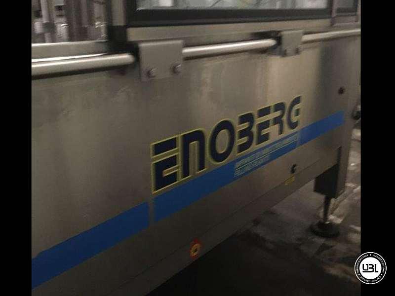 Tribloque de Llenado usado Enoberg S.R.G.TVP 12/12/1 Año 2014 – 2500 Bph - 8