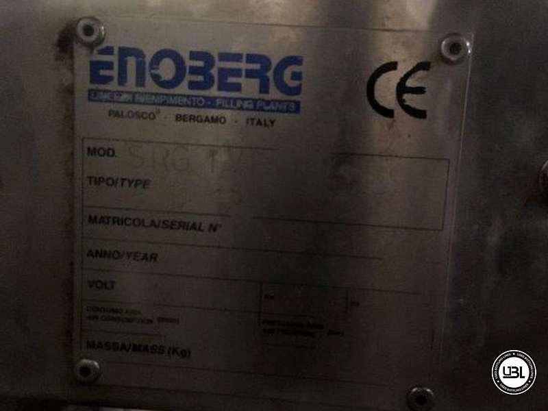 Tribloque de Llenado usado Enoberg S.R.G.TVP 12/12/1 Año 2014 – 2500 Bph - 9
