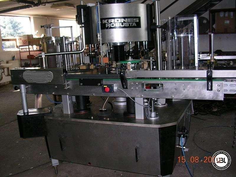 Used Bottle Labeler Krones ROBUSTA 10000 bph - 3