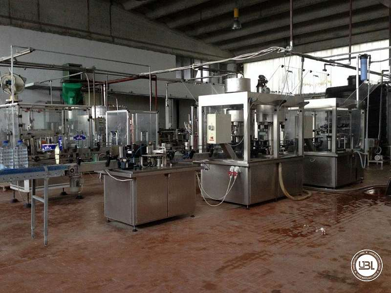 Used Complete PET Line for Water 1000 bph year 2006 - 8