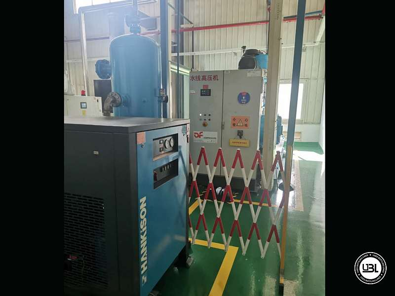 Used Complete PET Line for Water 36000 bph - 96