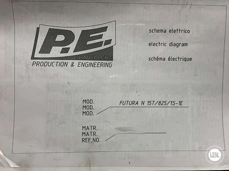 Used Bottle Labeler P.E. Labellers FUTURA 15T/825/1S-1E 18000 bph year 2000 - 5