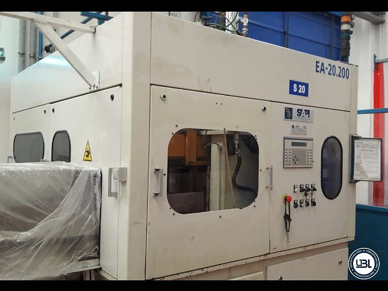 Máquinas de Soplado (PET) usada SIAPI EA20/120/2 Año 2004 1800 Bph - 1