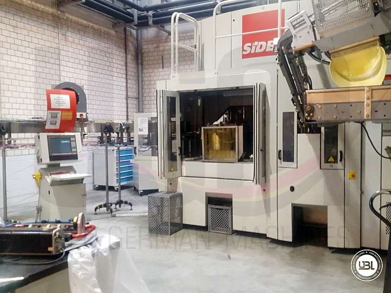 Used Blow Molding Machine Sidel SBO 14 year 2002 neck 28 mm 21000 bph - 1