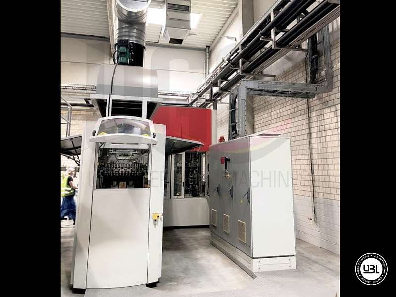Used Blow Molding Machine Sidel SBO 14 year 2002 neck 28 mm 21000 bph - 11