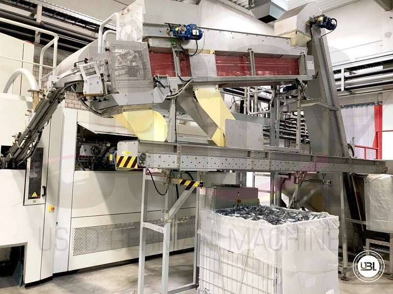 Used Blow Molding Machine Sidel SBO 14 year 2002 neck 28 mm 21000 bph - 14