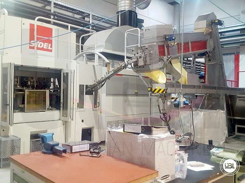 Used Blow Molding Machine Sidel SBO 14 year 2002 neck 28 mm 21000 bph - 2