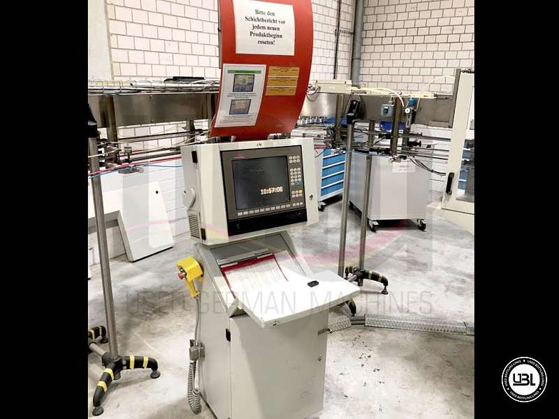 Used Blow Molding Machine Sidel SBO 14 year 2002 neck 28 mm 21000 bph - 26