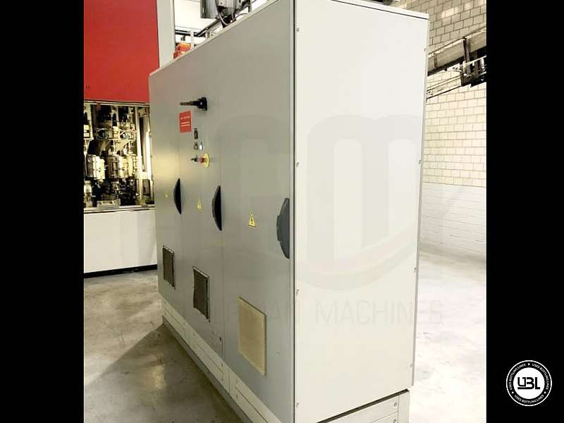 Used Blow Molding Machine Sidel SBO 14 year 2002 neck 28 mm 21000 bph - 6