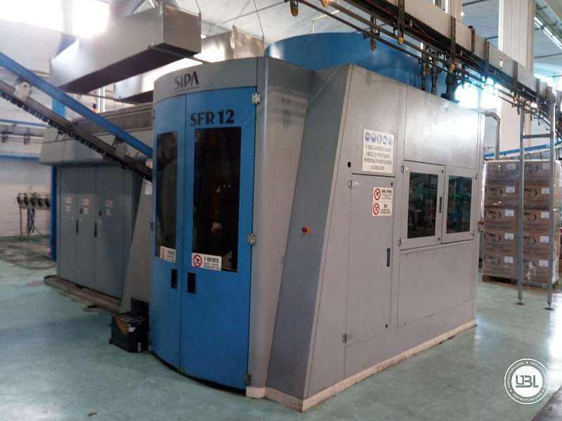 Used Blow Molding Machine Sipa SFR 12 year 2004 PCO 1810 19000 bph - 4