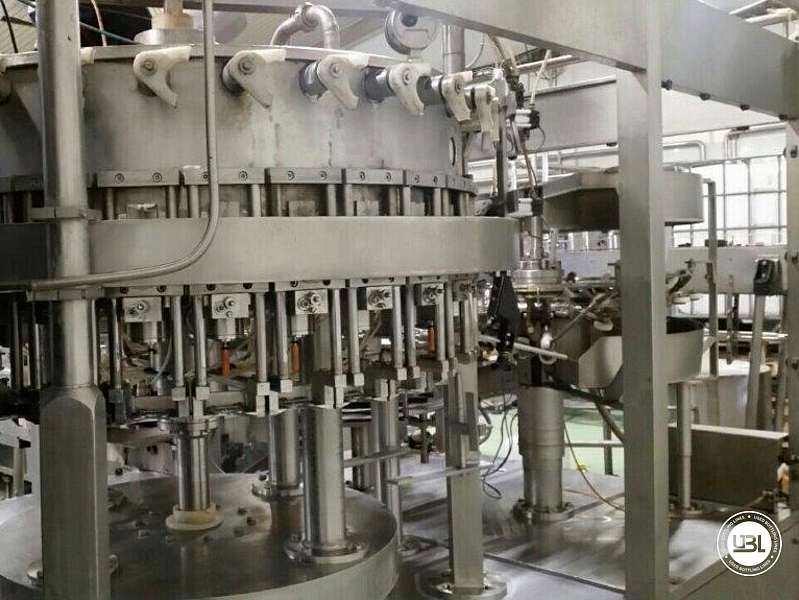 Used Isobaric Complete PET Line for Soft Drinks 5000 bph year 2005 - 2