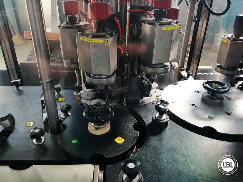 Used Capsuling Machine Robino & Galandrino ZENITH 2/12 OTTICO - 4