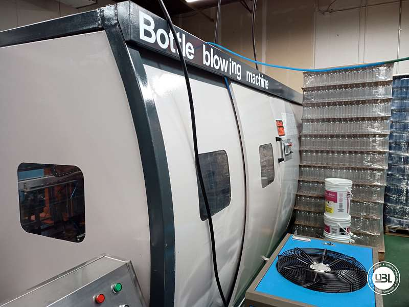 Used Blow Molding Machine Eautopia Biological Technology Inc. WJA-4 up to 6000 bph - 3