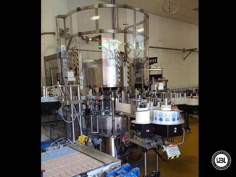 Used Isobaric Complete Glass, PET Line for Sparkling Water, Water 10000 Bph - 2