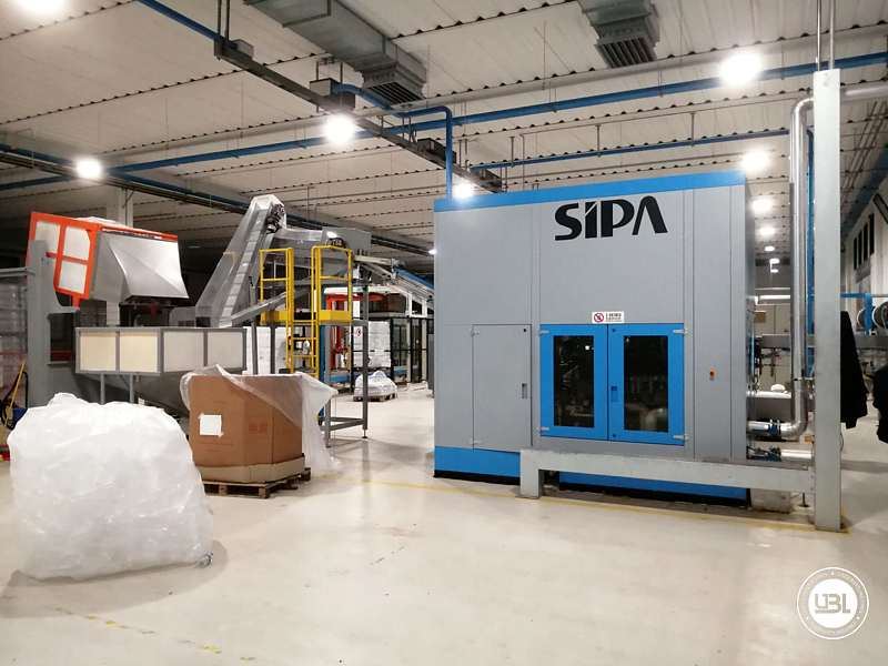 Used Blow Moulding Machine Sipa SFR8 Year 2003 12000 Bph - 1