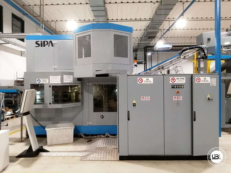 Used Blow Moulding Machine Sipa SFR8 Year 2003 12000 Bph - 2