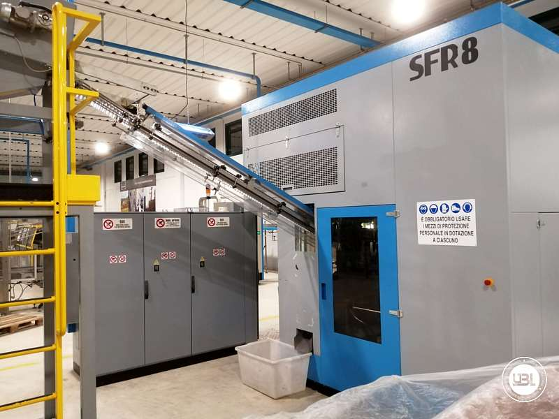 Used Blow Moulding Machine Sipa SFR8 Year 2003 12000 Bph - 3