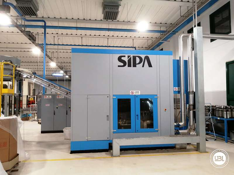 Used Blow Moulding Machine Sipa SFR8 Year 2003 12000 Bph - 4