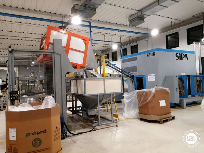 Used Blow Moulding Machine Sipa SFR8 Year 2003 12000 Bph - 6