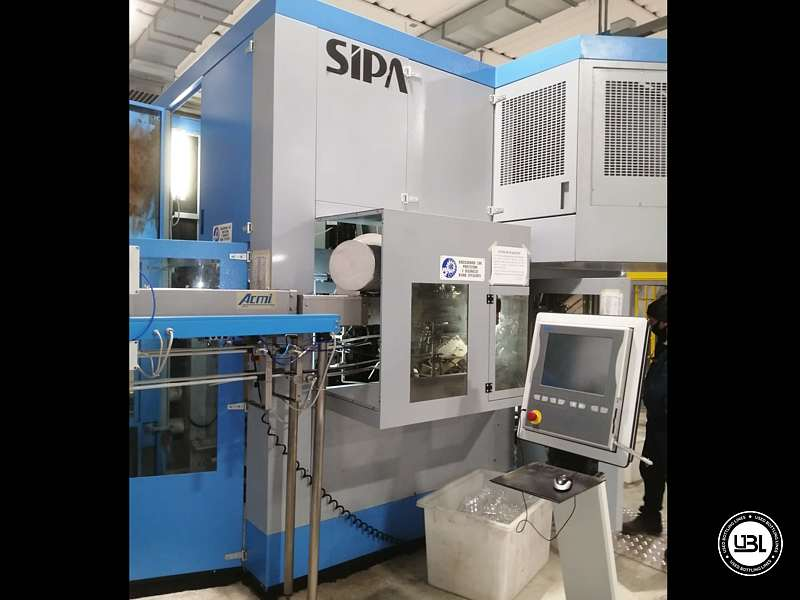 Used Blow Moulding Machine Sipa SFR8 Year 2003 12000 Bph - 8