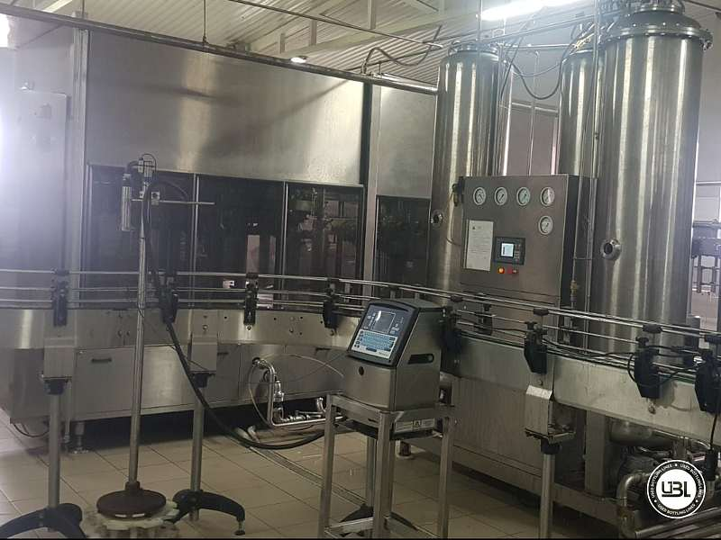 Used Isobaric Complete PET Line for Flat Drinks, Soft Drinks, Sparkling Water, Water 4500 bph - 1