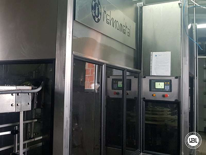 Used Isobaric Complete PET Line for Flat Drinks, Soft Drinks, Sparkling Water, Water 4500 bph - 10