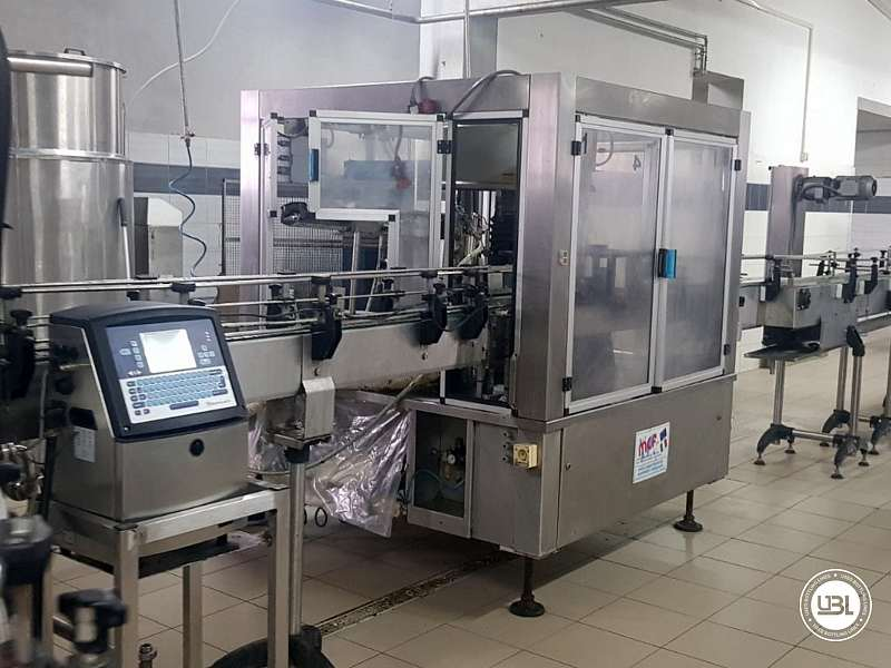 Used Isobaric Complete PET Line for Flat Drinks, Soft Drinks, Sparkling Water, Water 4500 bph - 12