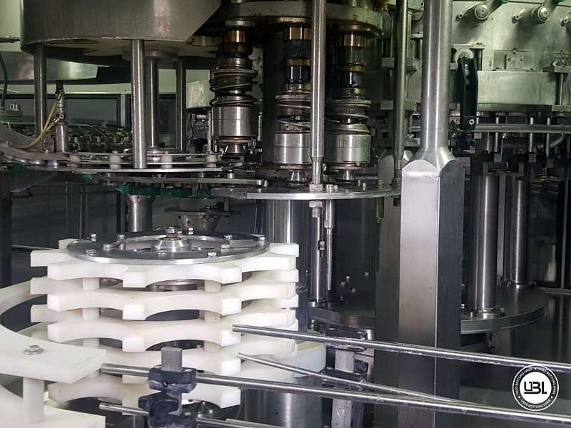 Used Isobaric Complete PET Line for Flat Drinks, Soft Drinks, Sparkling Water, Water 4500 bph - 13