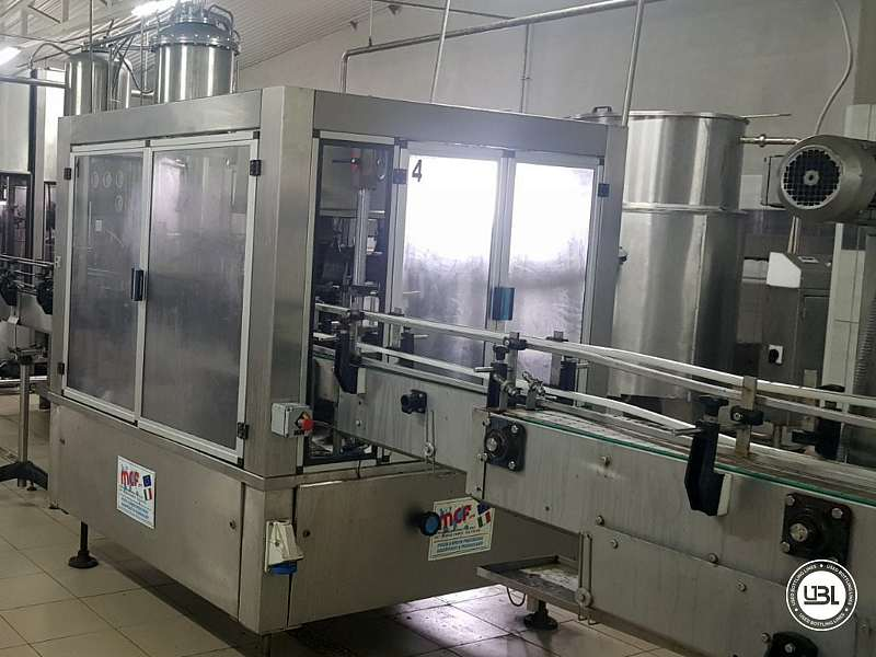 Used Isobaric Complete PET Line for Flat Drinks, Soft Drinks, Sparkling Water, Water 4500 bph - 14