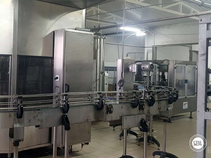 Used Isobaric Complete PET Line for Flat Drinks, Soft Drinks, Sparkling Water, Water 4500 bph - 15