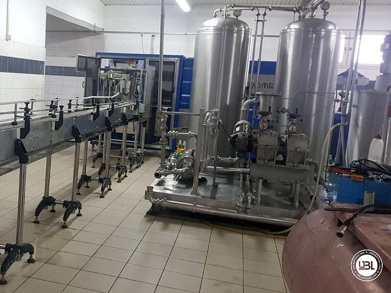 Used Isobaric Complete PET Line for Flat Drinks, Soft Drinks, Sparkling Water, Water 4500 bph - 16