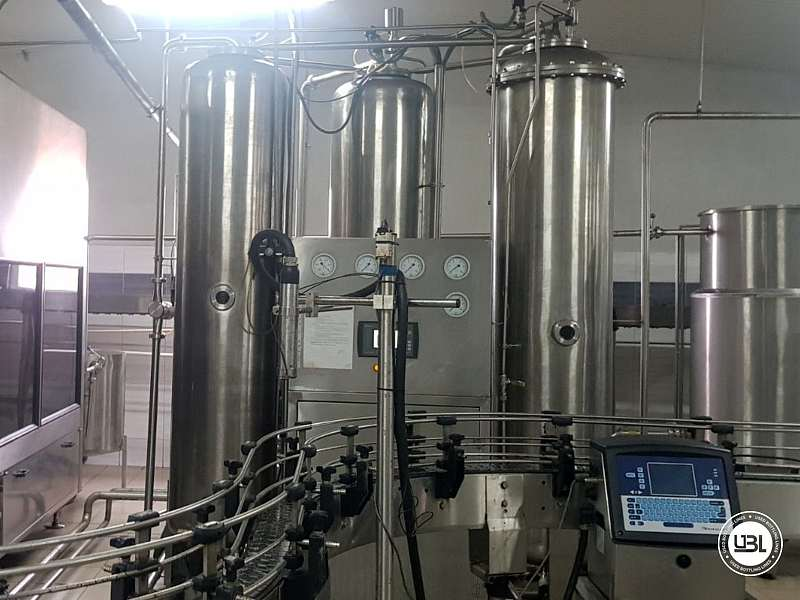 Used Isobaric Complete PET Line for Flat Drinks, Soft Drinks, Sparkling Water, Water 4500 bph - 17