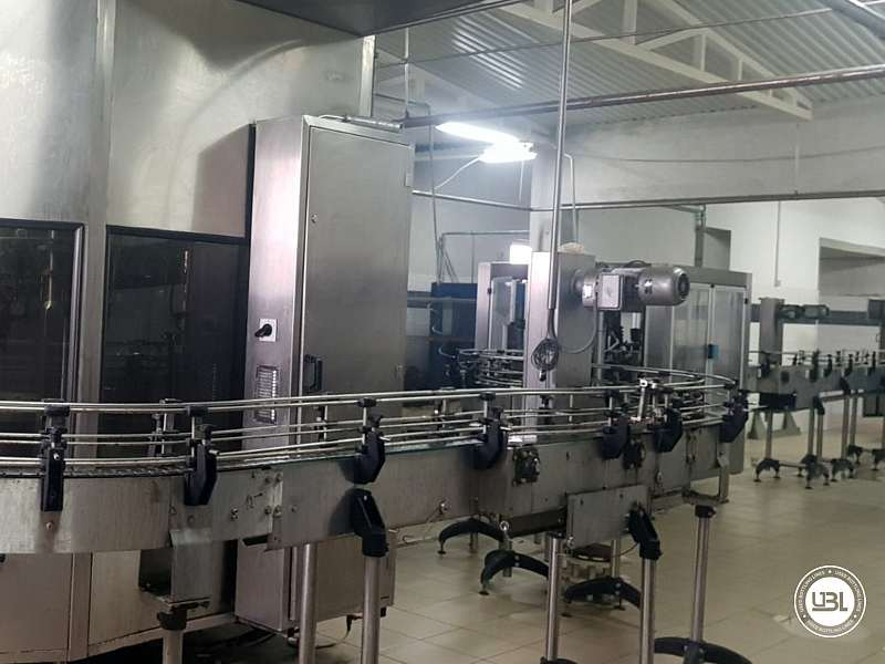 Used Isobaric Complete PET Line for Flat Drinks, Soft Drinks, Sparkling Water, Water 4500 bph - 2