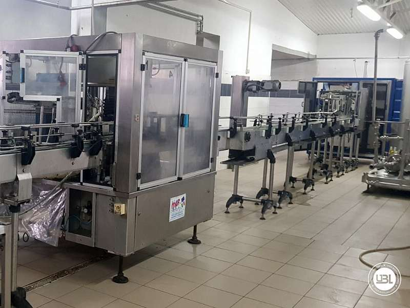 Used Isobaric Complete PET Line for Flat Drinks, Soft Drinks, Sparkling Water, Water 4500 bph - 3