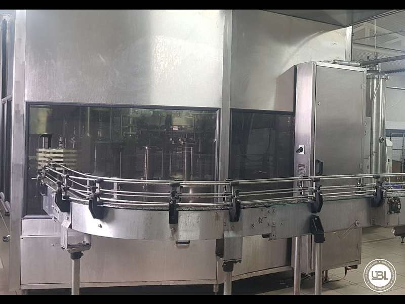 Used Isobaric Complete PET Line for Flat Drinks, Soft Drinks, Sparkling Water, Water 4500 bph - 4