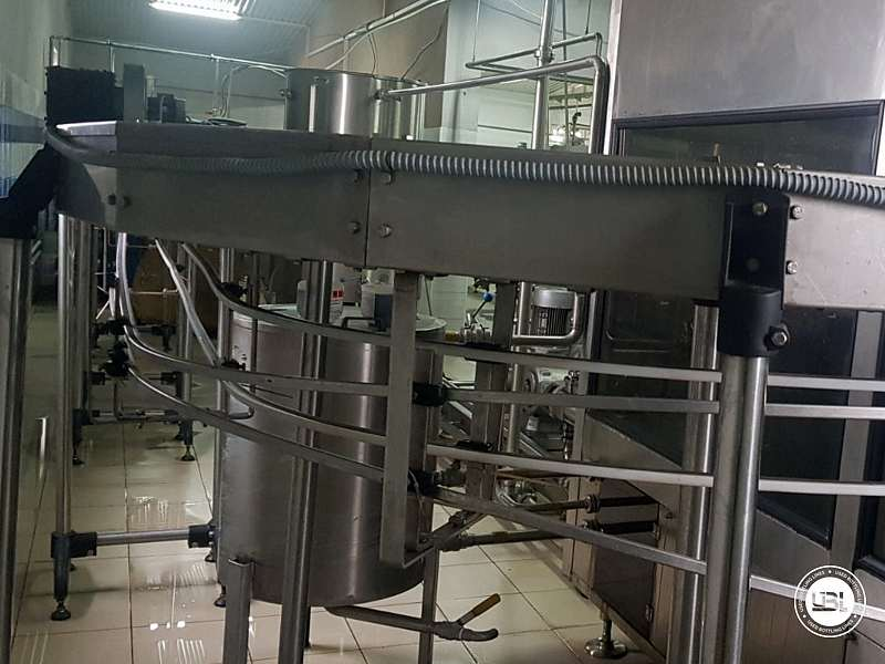 Used Isobaric Complete PET Line for Flat Drinks, Soft Drinks, Sparkling Water, Water 4500 bph - 5