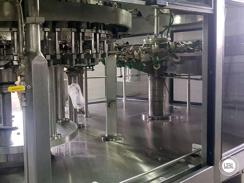 Used Isobaric Complete PET Line for Flat Drinks, Soft Drinks, Sparkling Water, Water 4500 bph - 7