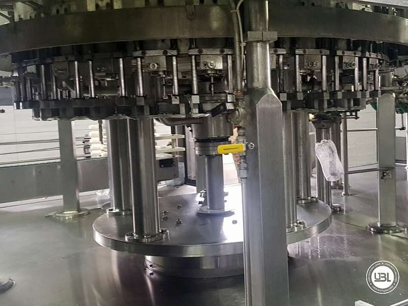 Used Isobaric Complete PET Line for Flat Drinks, Soft Drinks, Sparkling Water, Water 4500 bph - 8