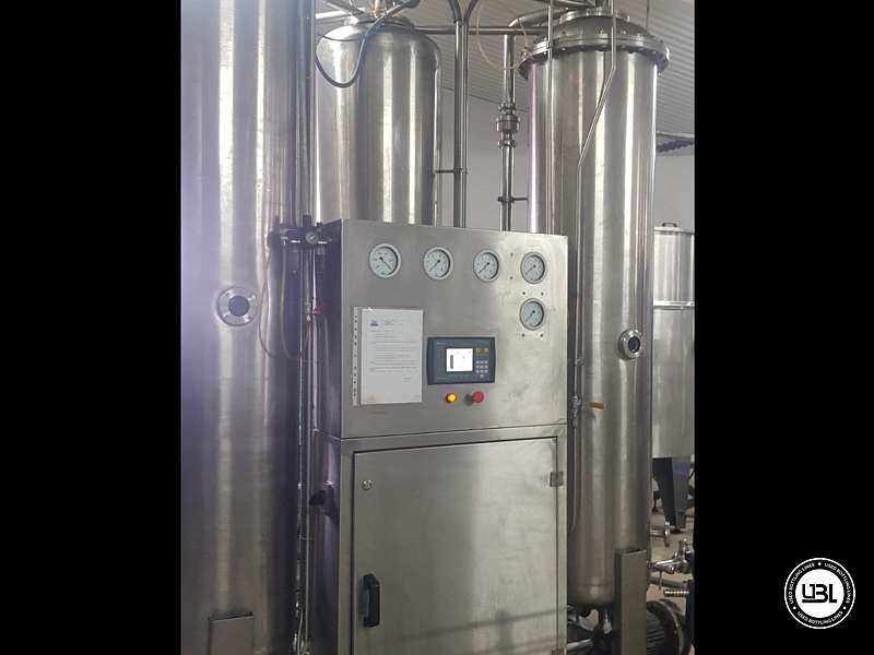 Used Isobaric Complete PET Line for Flat Drinks, Soft Drinks, Sparkling Water, Water 4500 bph - 9