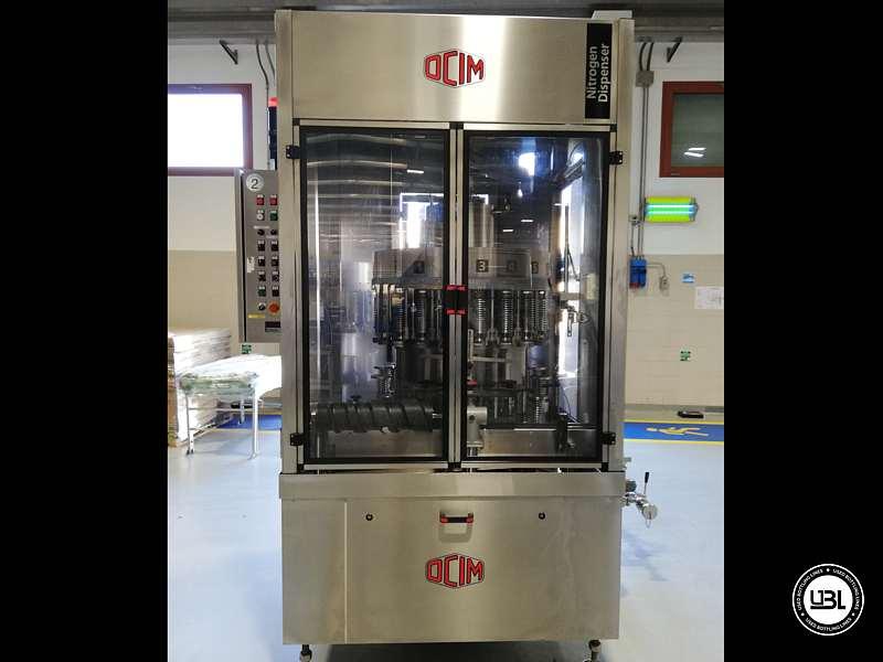 Used Filling Machine OCIM RAPIDA 20 for Oil Year 2006 – 2500 bph - 12