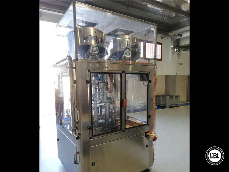 Used Capping Machine KTF ELECTRONIC CAPPER KTP 2-540 Year 2013 - 1
