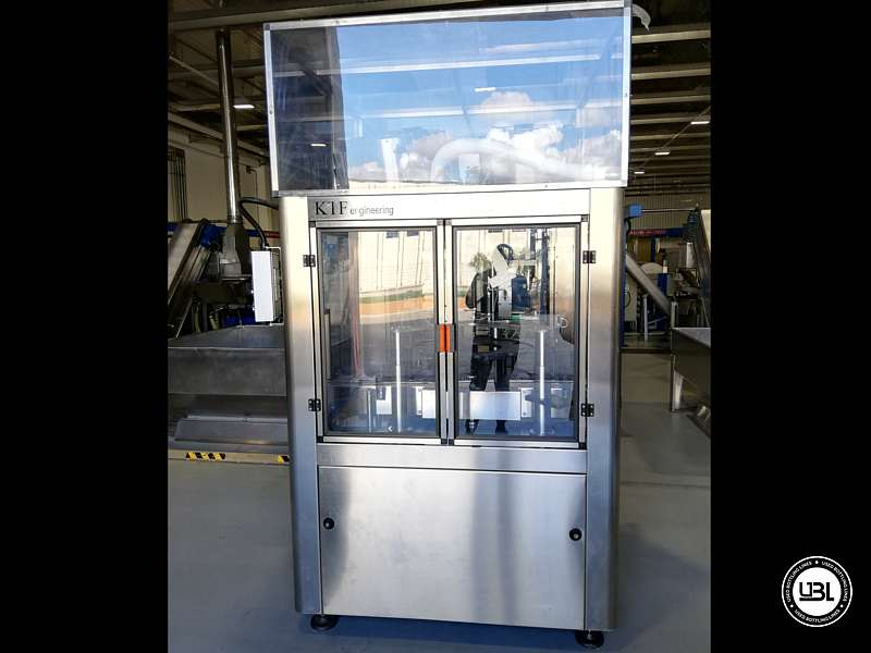 Used Capping Machine KTF ELECTRONIC CAPPER KTP 2-540 Year 2013 - 2